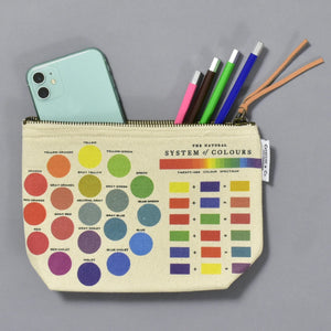 System of Colors Zipper Pouch