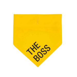 Pet Bandana -The Boss