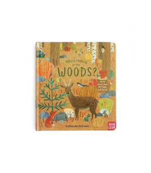 Who's Hiding In The Woods Book