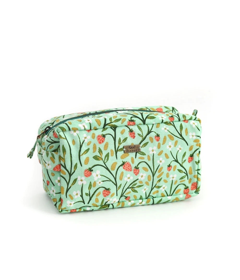 Strawberry Meadows Pouch- Large