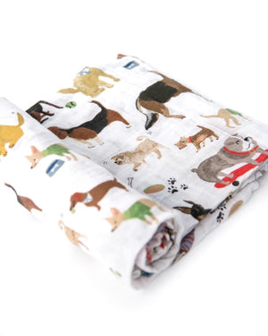 Cotton Muslin Swaddle Blankets- Prints