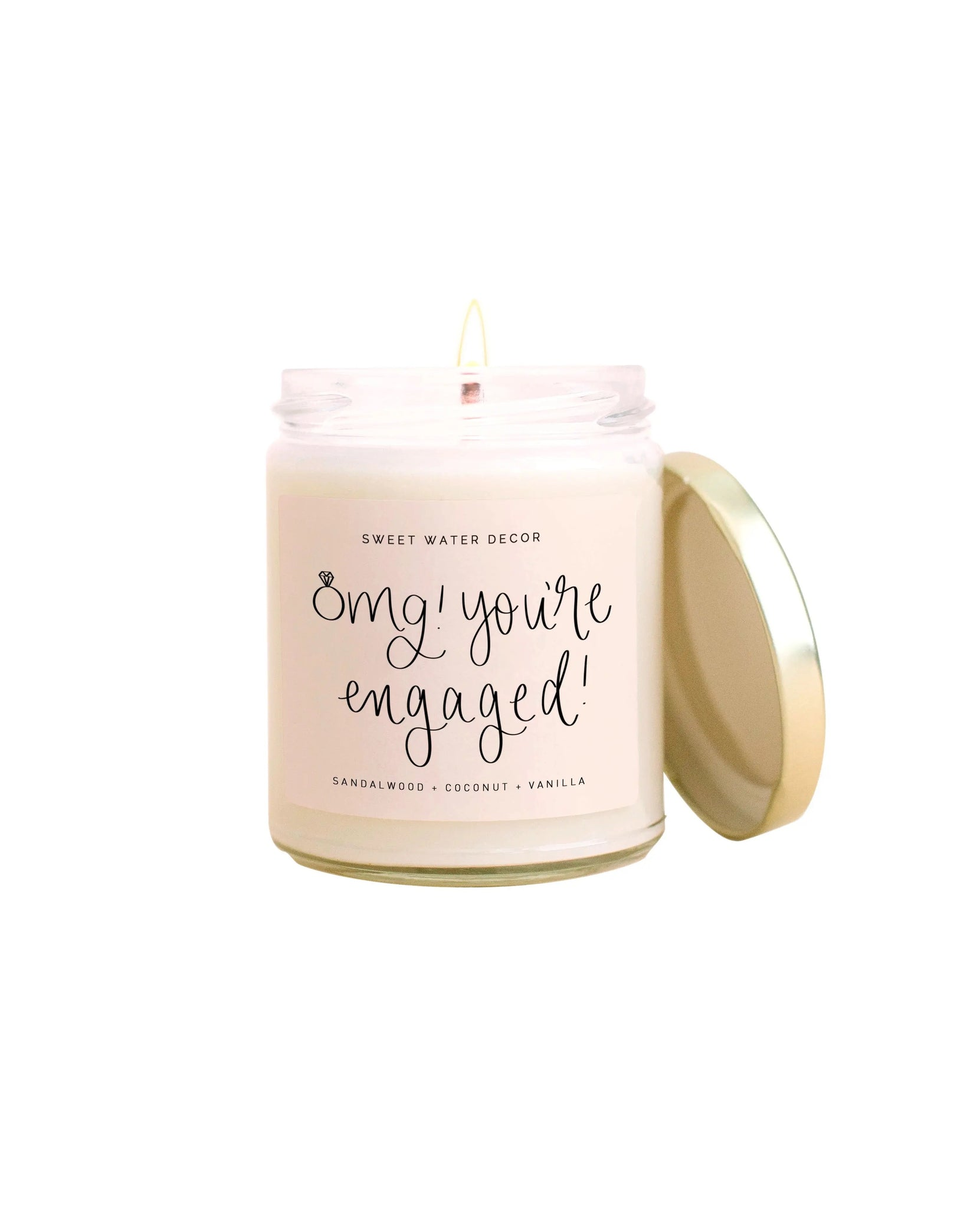Omg You're Engaged Candle