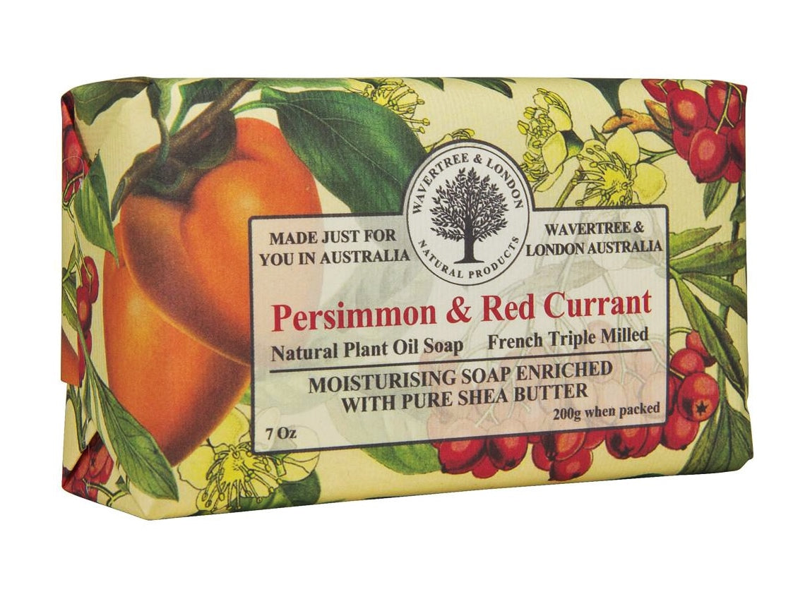 Persimmon & Red Currant Australian Natural Soap