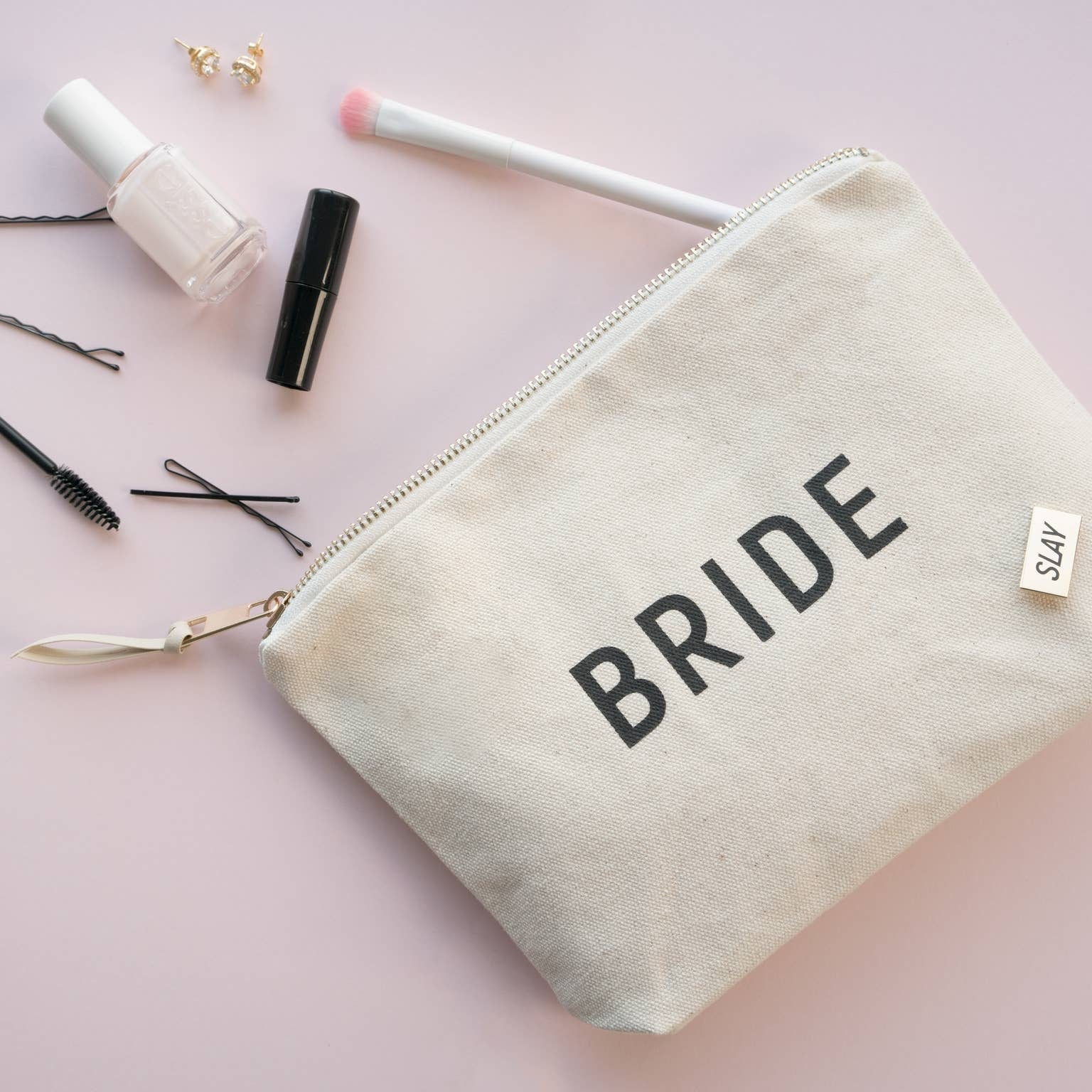 Bride Zipper Pouch