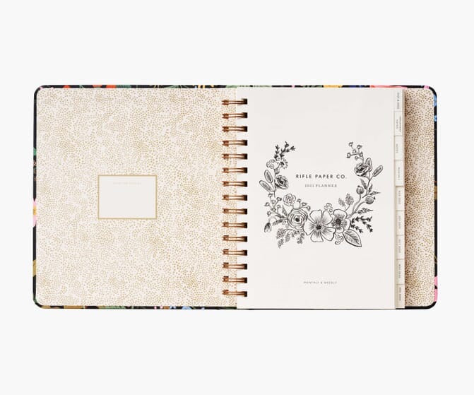 2021 Planner Binder- Strawberry Fields