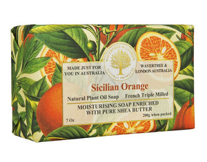 Sicilian Orange Australian Natural Soap