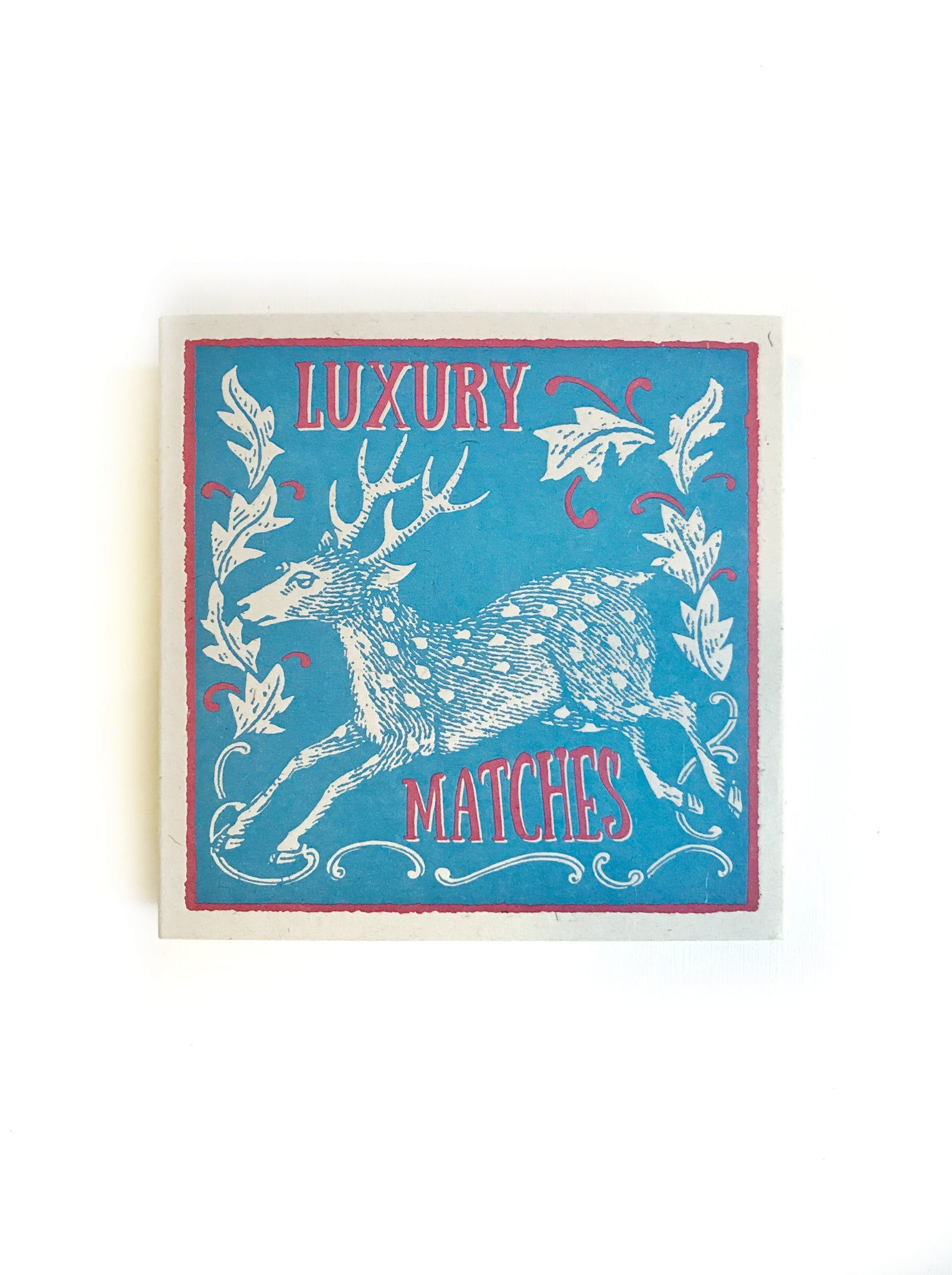 Holiday Reindeer Luxury Matches