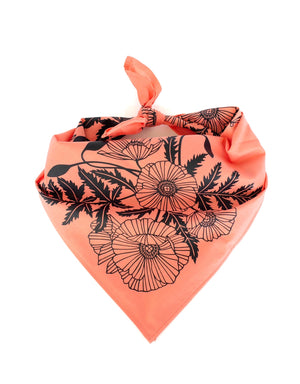 Poppies Bandana