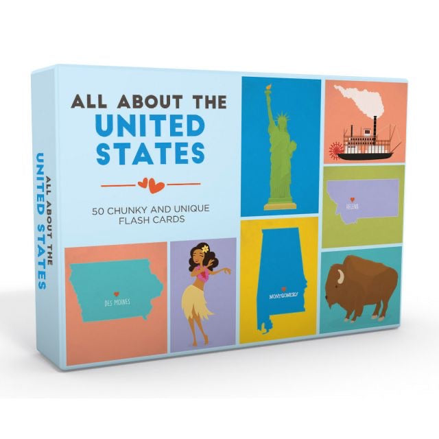 All About the United States Flash Cards