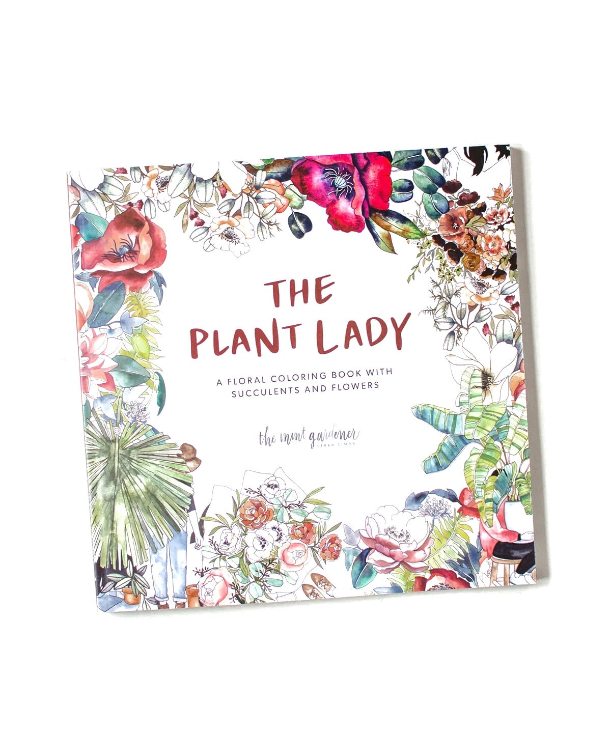 The Plant Lady Coloring Book