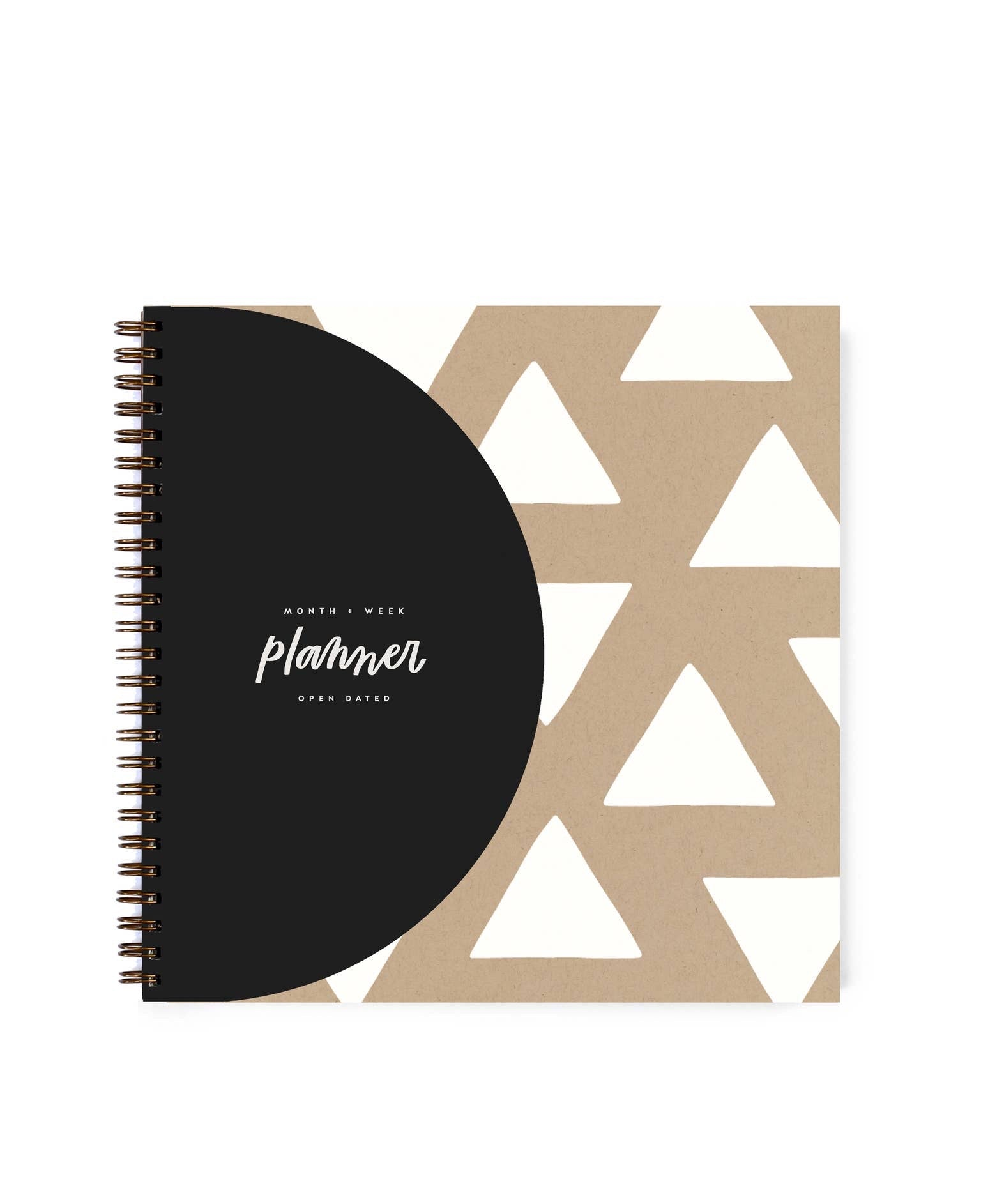 Modern Monthly + Weekly Planner