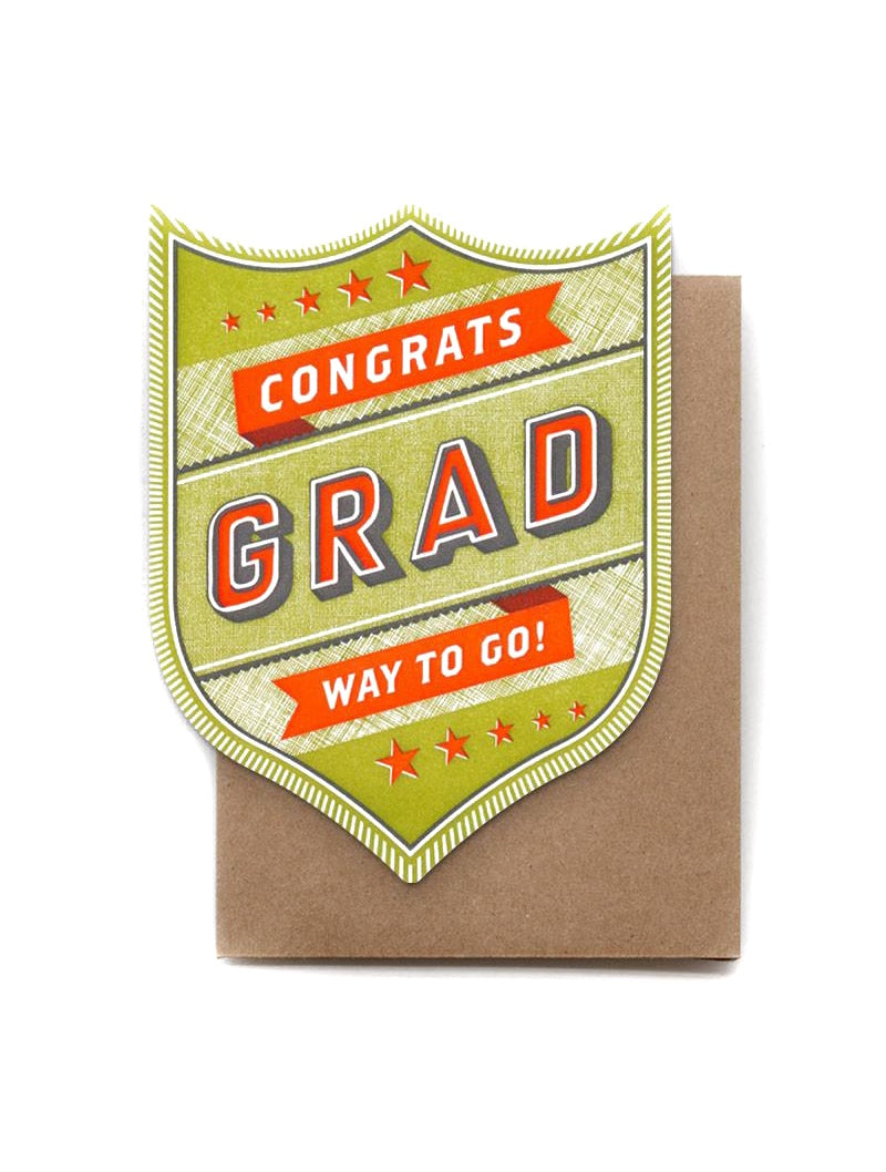 Congrats Grad Way To Go Card