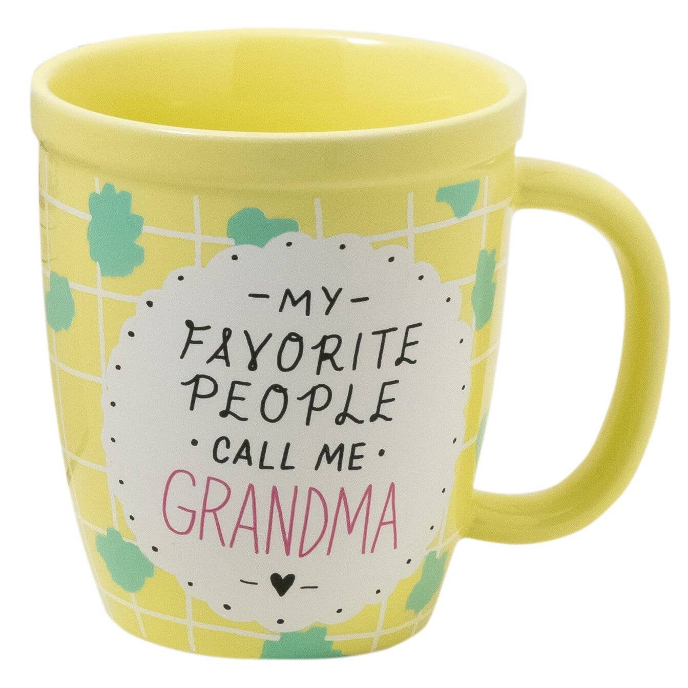 Favorite People Call Me Grandma Mug