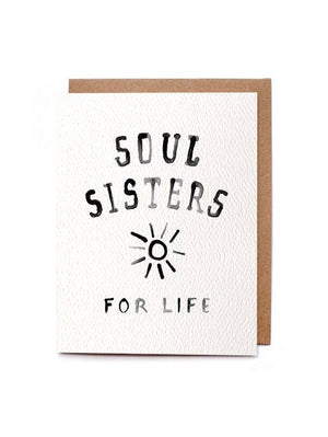 Soul Sister For Life Card