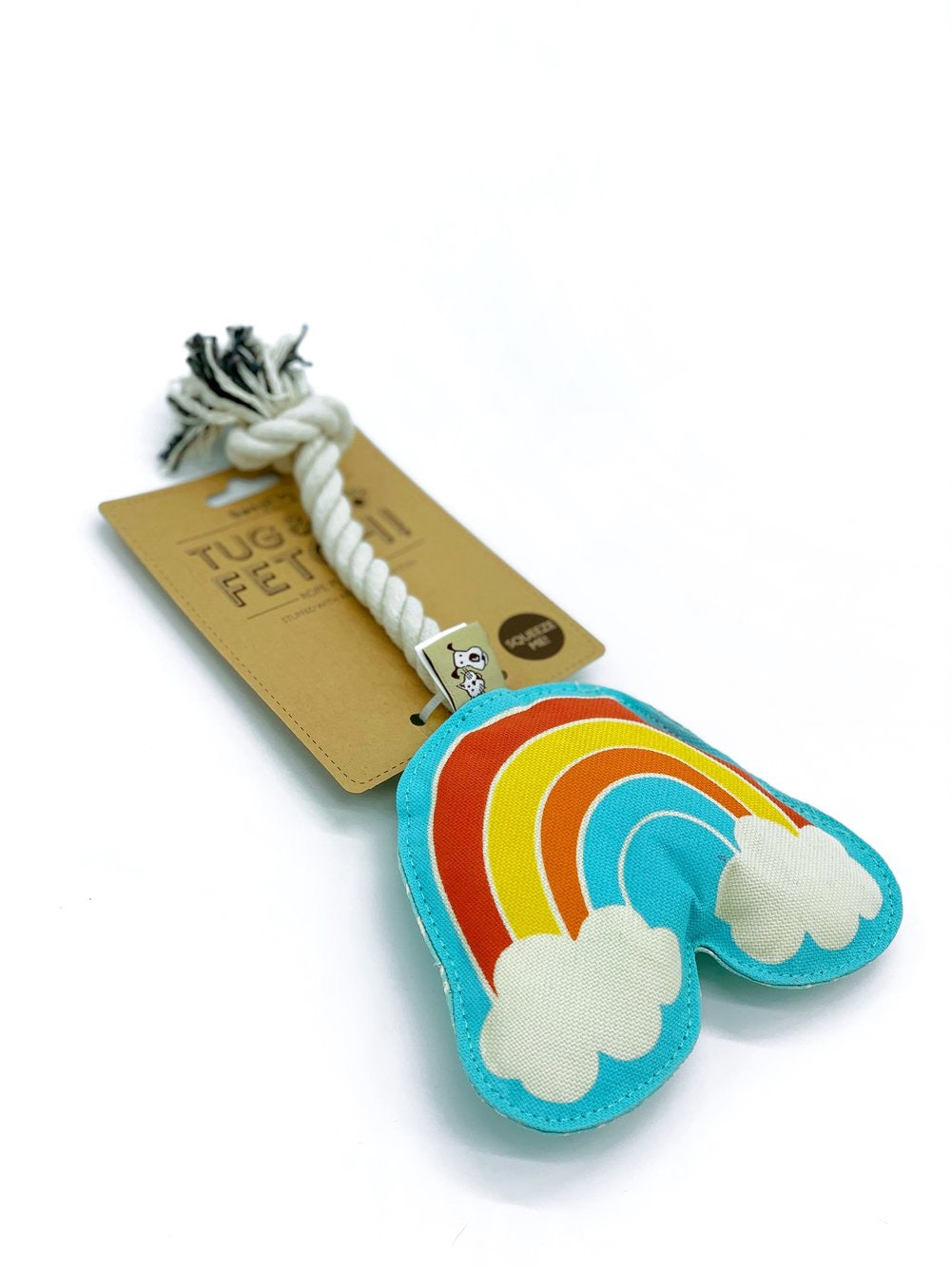 Rainbow Rope Dog Toy