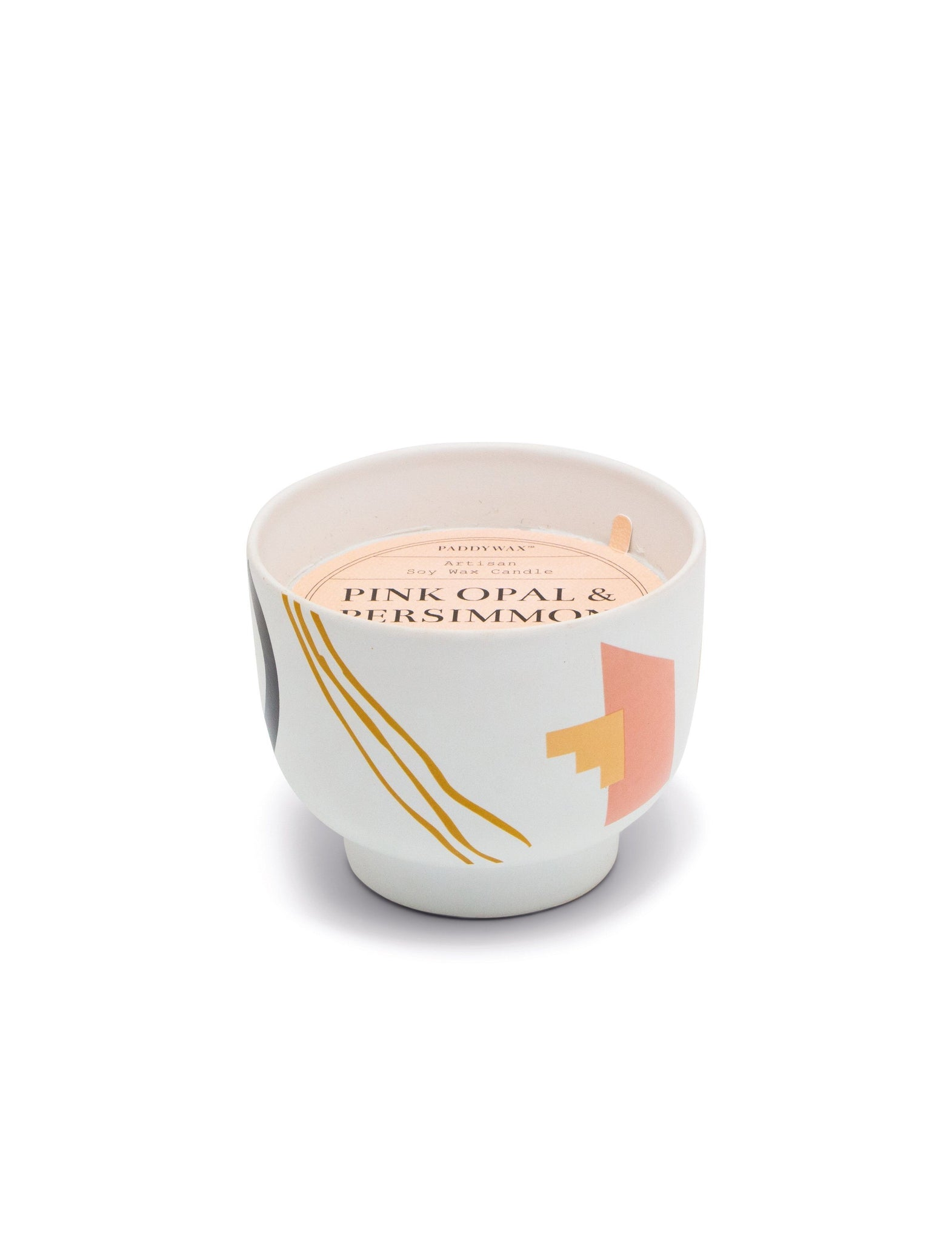 Pink Opal + Persimmon Candle
