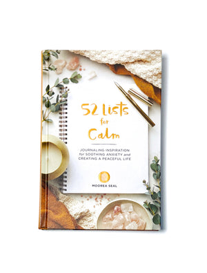 52 Lists For Calm Book