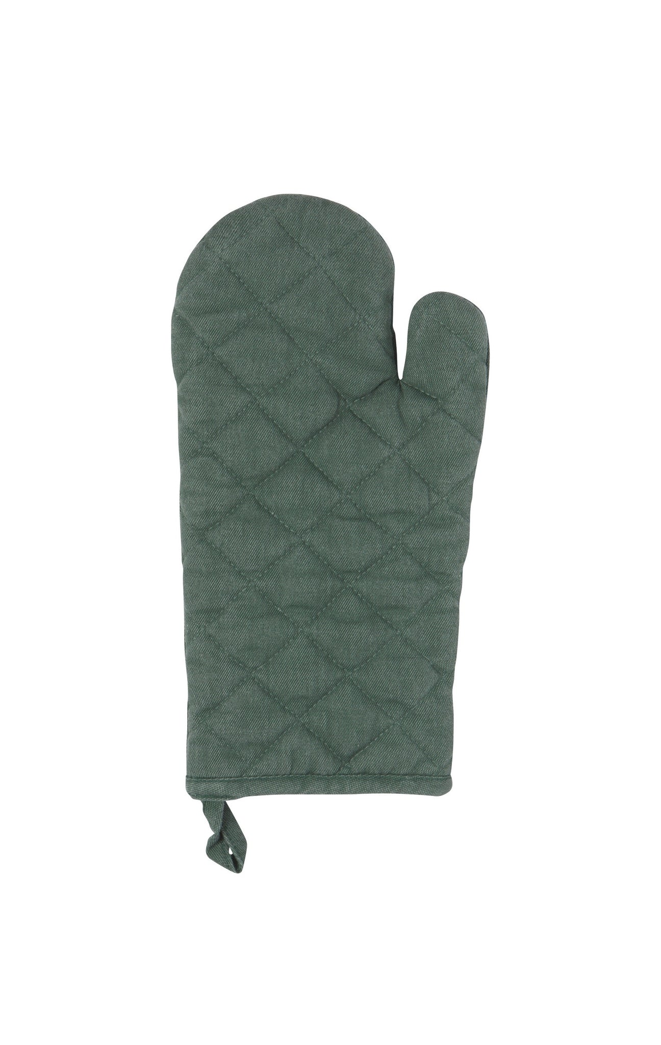 Heirloom Stonewash Oven Mitt- Jade
