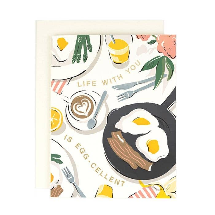 Life With You Is Egg-cellent Card
