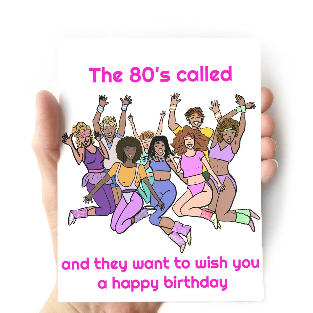 The 80's Called Birthday Card