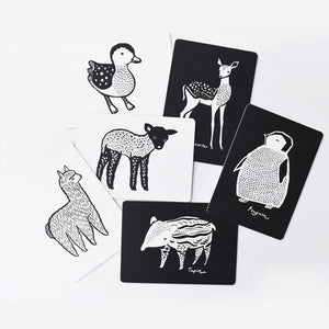 Art Cards for Baby - Baby Animal Collection
