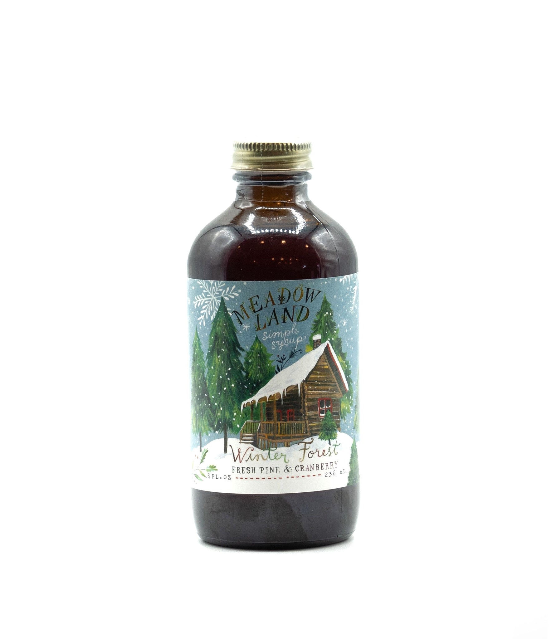 Winter Forest Simple Syrup