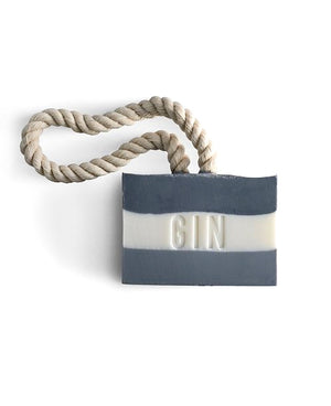 Gin Soap On A Rope