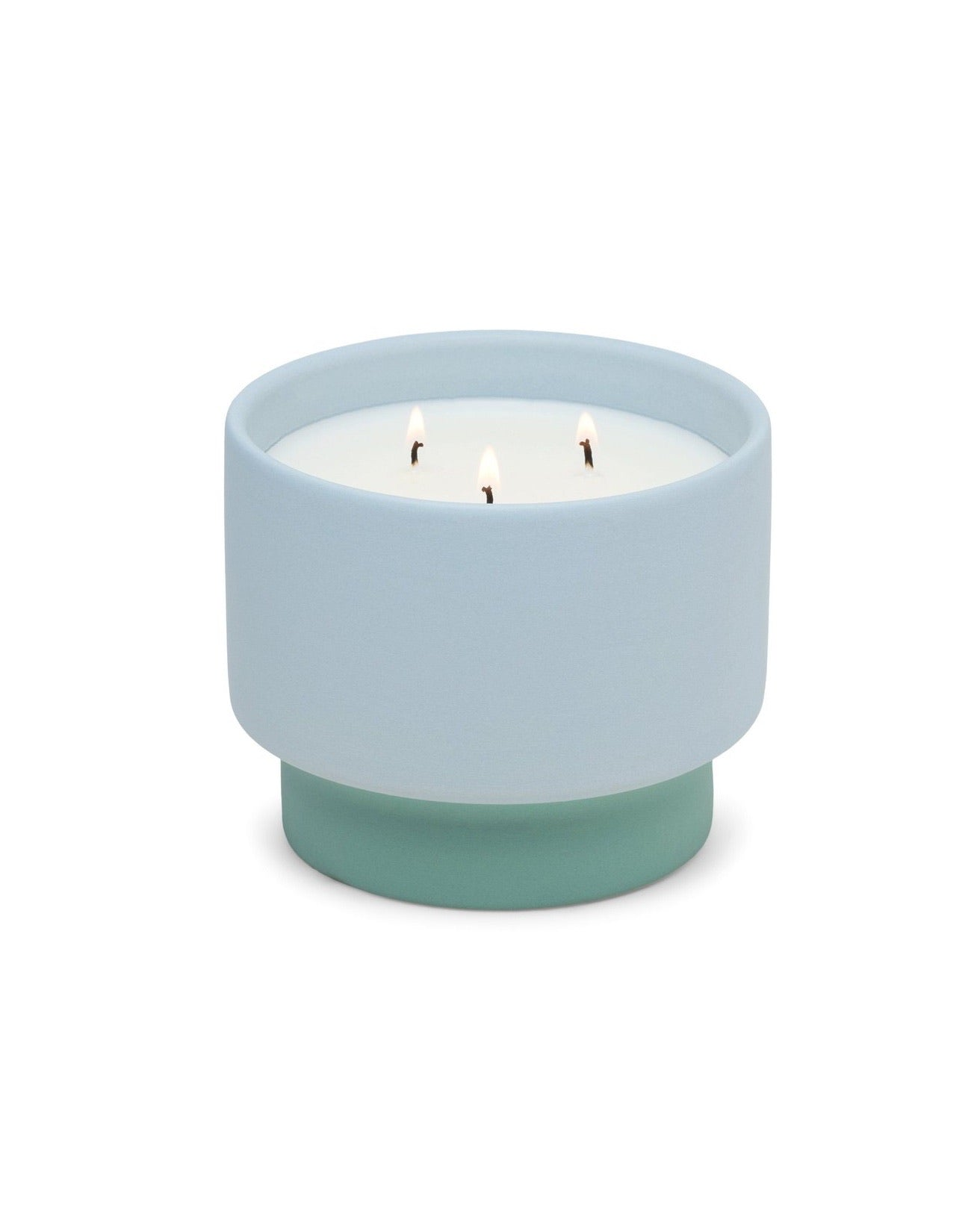 Color Block Candle- Saltwater Suede