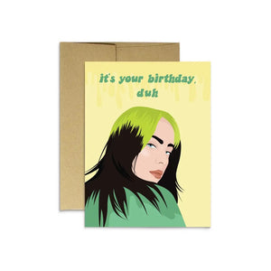 Billie Birthday Card