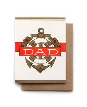 Dad Anchor Father's Day Card