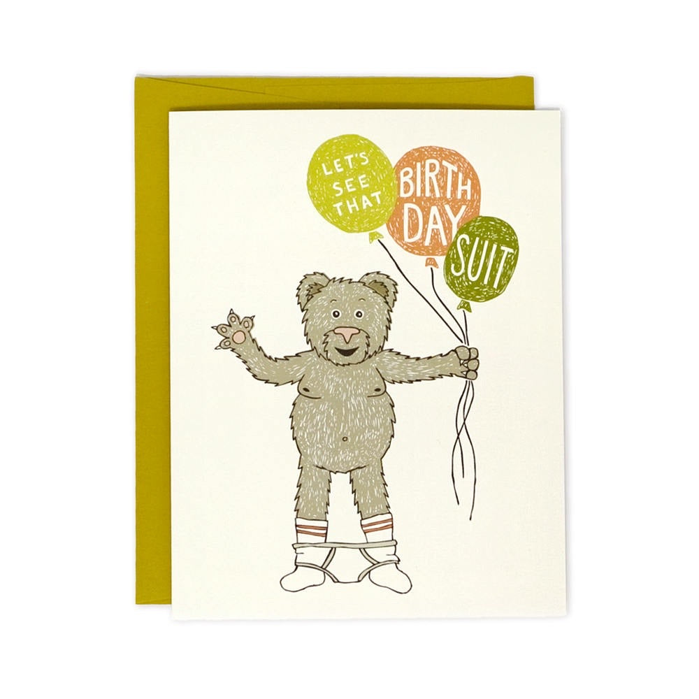 Let's See That Birthday Suit Card