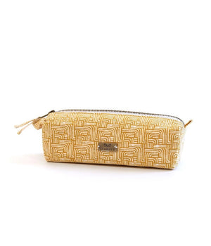 Gold Stripe Pouch- Small