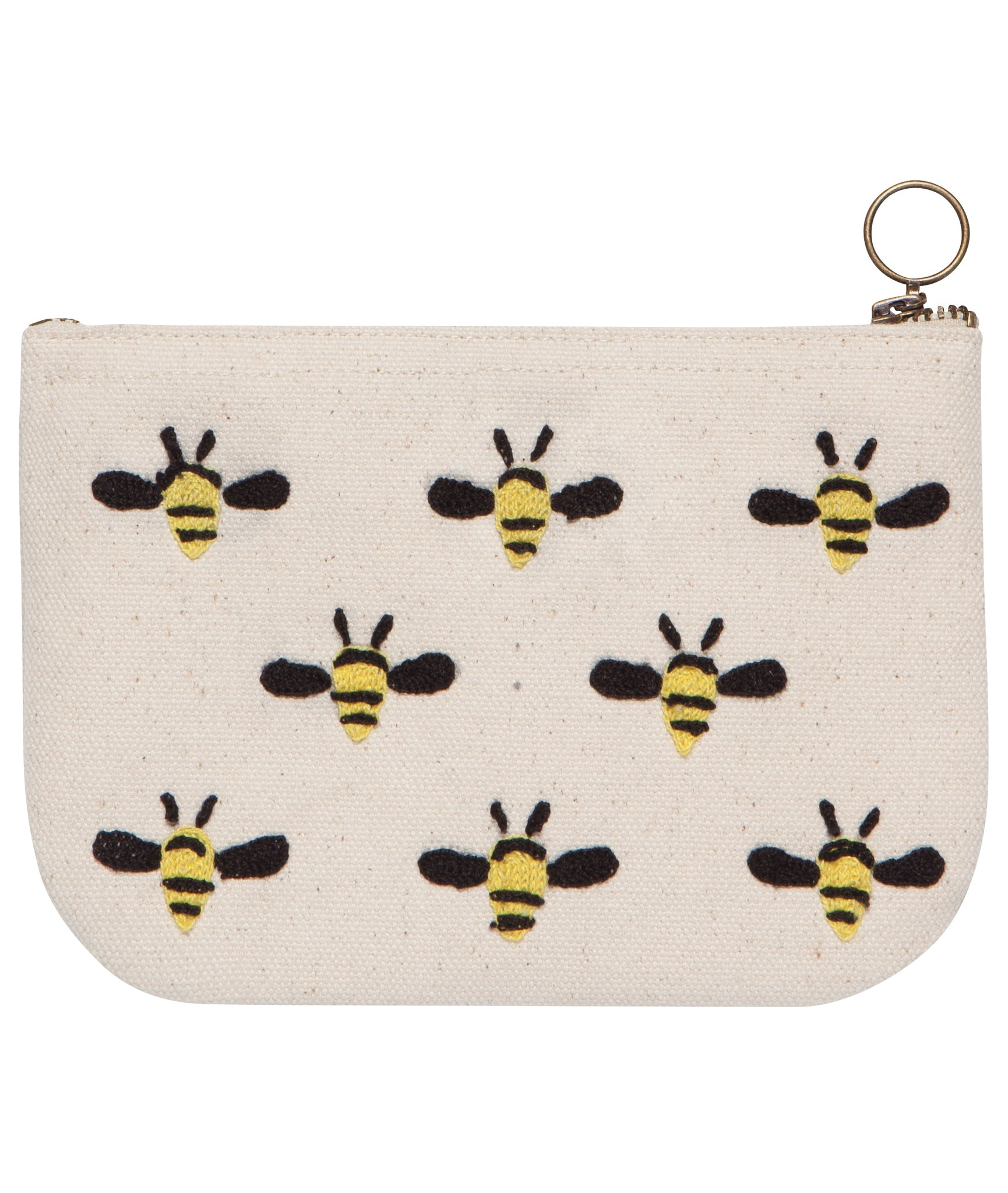 Frida Bee Small Zip Pouch
