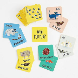Who Pooped? Memory Game