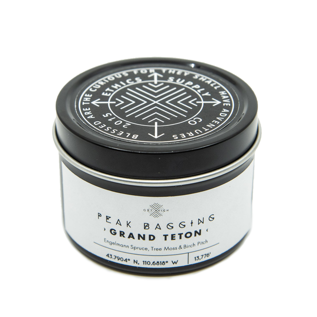 Grand Teton Travel Candle