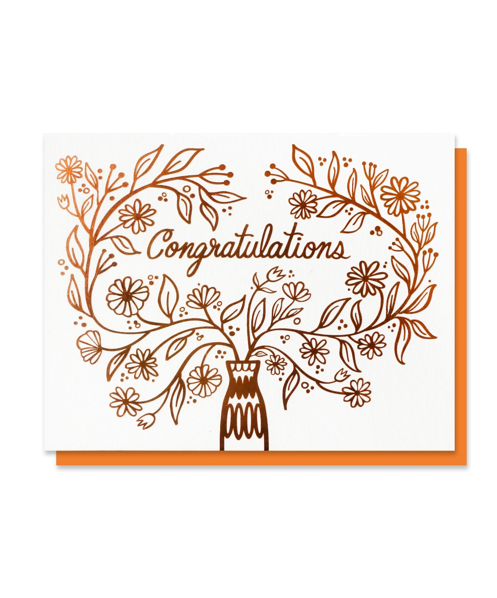 Congratulations Bouquet Card