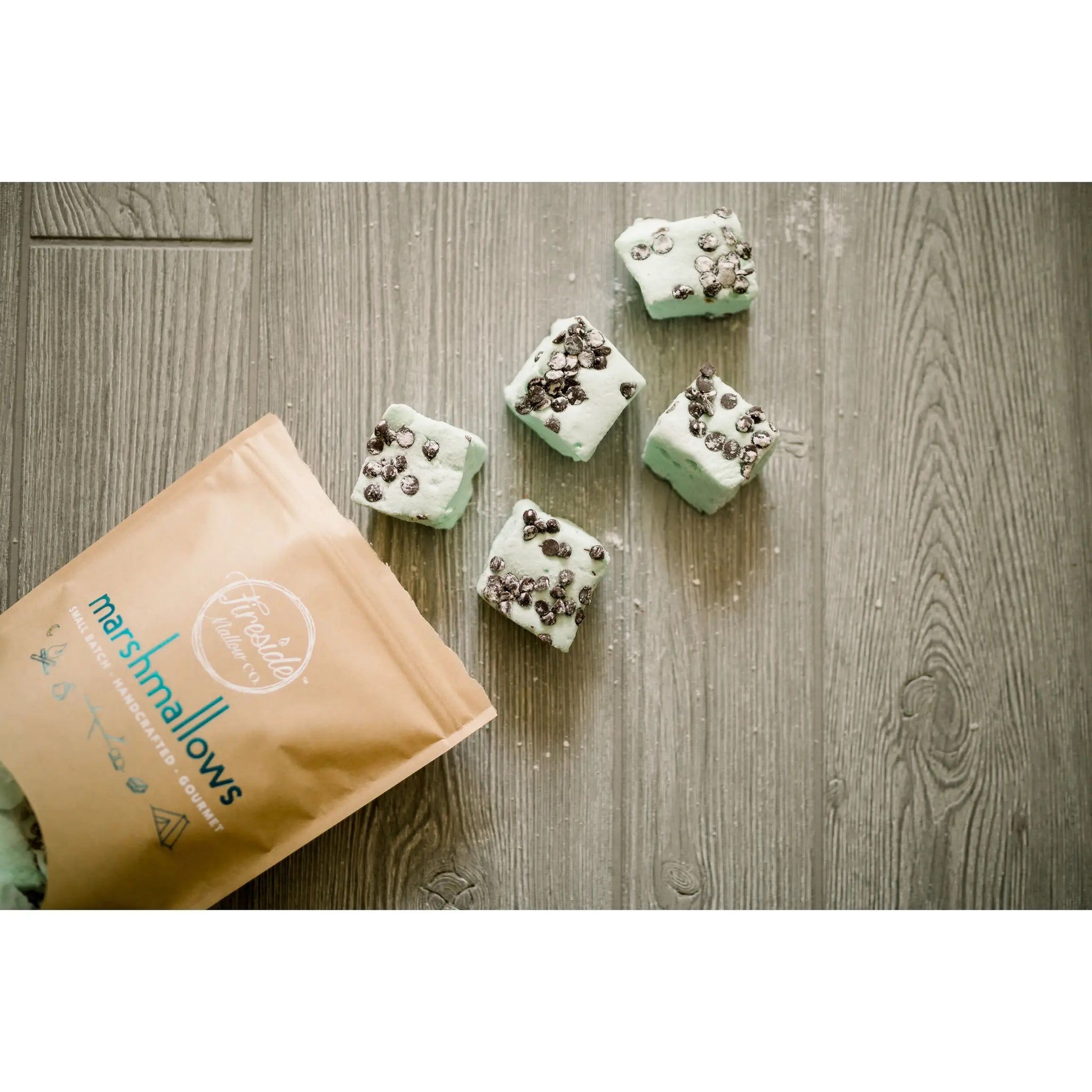 Gourmet Marshmallows- Chocolate Chip Mint
