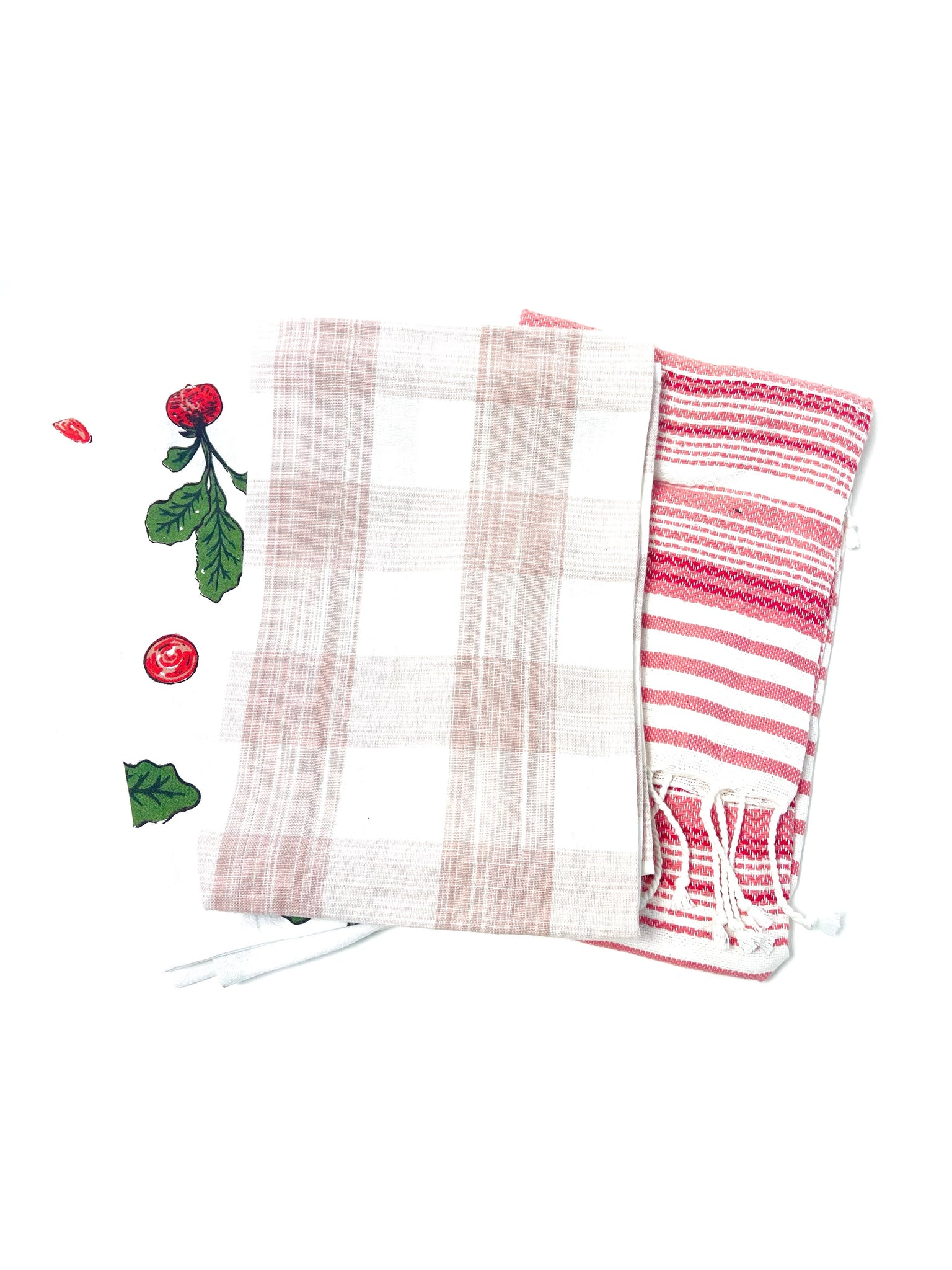 Radish Tea Towel- Set of 3