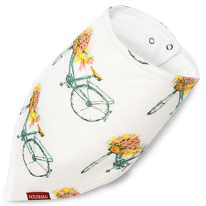 Springtime Bicycle Cozy Kerchief Bib