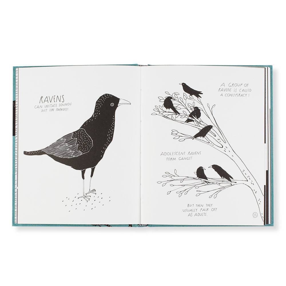 The Illustrated Compendium of Amazing Animal Facts Book