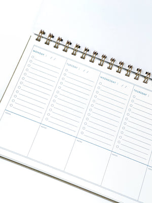 Let This Be The Year Weekly Planner