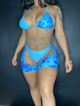 Load image into Gallery viewer, I'm All Tie Dye 3 Piece Bikini Set