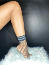 Load image into Gallery viewer, To Cute Fishnet Mini Socks