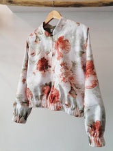 Load image into Gallery viewer, Watercolor bomber jacket