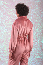 Load image into Gallery viewer, Velvet jumpsuit
