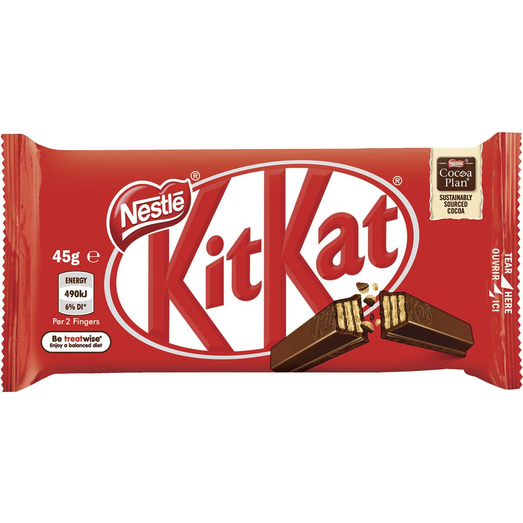Chocolate KIT KAT Four Finger BAR 50g