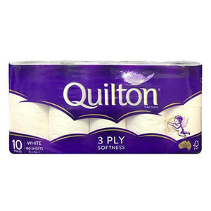 QUILTON 10pack 3ply Toilet Paper