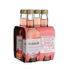 Bickfords LEMON LIME & BITTERS 330ml 4 pack