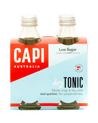 CAPI Glass 250ml DRY TONIC WATER 4PACK