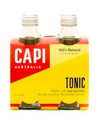 CAPI Glass 250ml TONIC WATER 4PACK